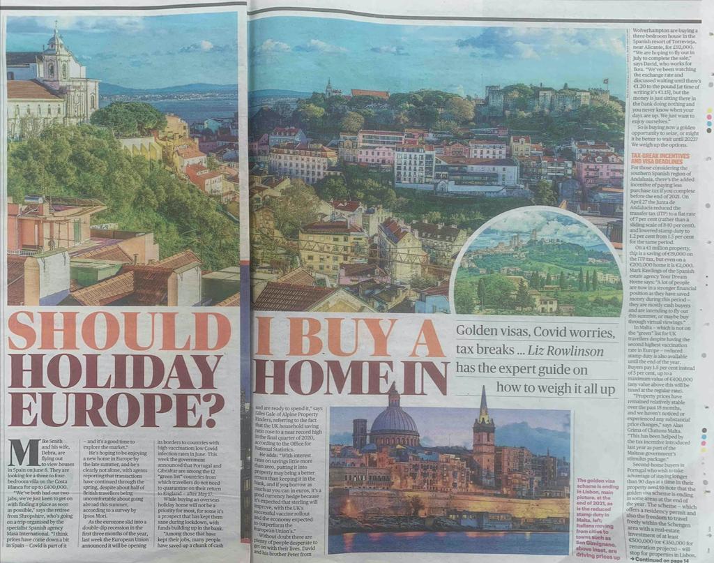 Sunday Times | May 2021